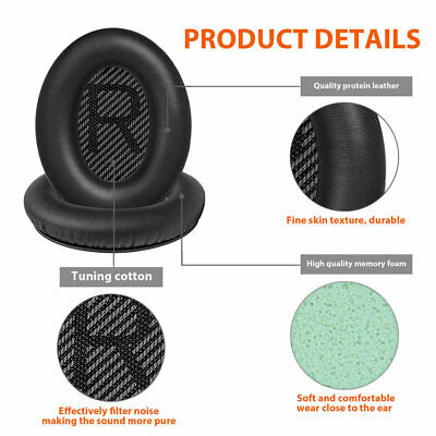 $ CDN11.29 • Buy Replacement Ear Pads Cushion Cover For QuietComfort QC35 QC35II Bose Headphones