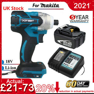 For Makita DTD152Z 18V LXT Impact Driver Or BL1850 5.0AH Battery Or Charger • 59.97£