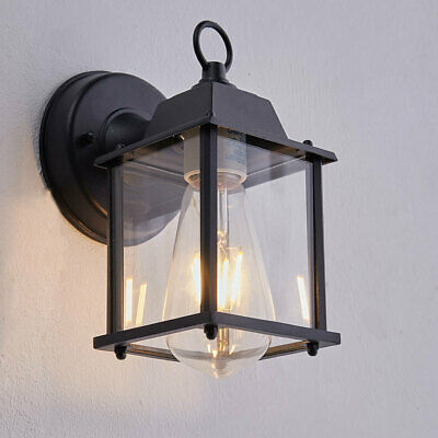 Metal Vintage Industrial Indoor Wall Light Glass Lounge Lamp With E27 Light Bulb • 31.14£