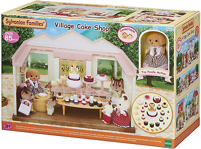 Sylvanian Families Decorated Cake Shop New In Box! • 28.50£
