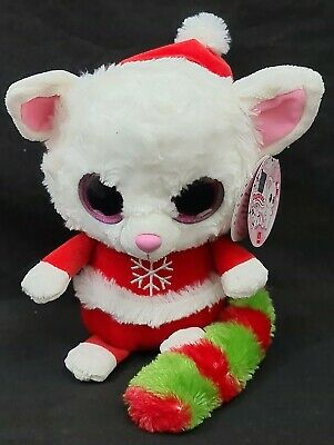 YooHoo And Friends Rare 7  Pammee Mrs Claus Christmas Plush Fennec Fox • 6.90£