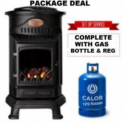 G  New Provence Calor Portable Mobile Heater Complete With Full Gas Bottle & Reg • 2,369.95£