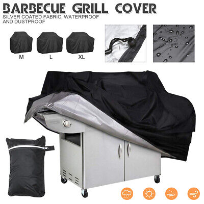 AU17.99 • Buy BBQ Cover 4 Burner Waterproof Outdoor Gas Charcoal Barbecue Grill UV Protector