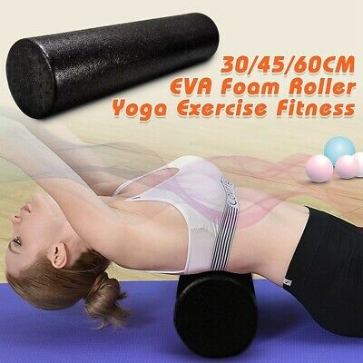 AU19.97 • Buy Yoga Block Foam Roller Fitness Equipments Pilates Body Building Workout Exercise