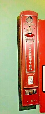 Antique Coin Operated Wild Woodbine Cigarette Vending Machine • 999£