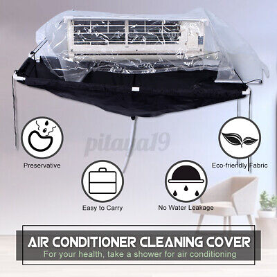 AU76.46 • Buy Air Conditioner Cleaning Bag Wash Cover Waterproof Wall Mounted Protector Kit
