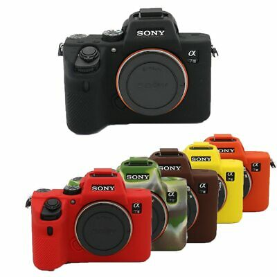 $ CDN20.10 • Buy Nice Soft Camera Silicone Case For Sony A7III / A7R3 A7R4 A7IV A7M3 A7RM3 A7RM4