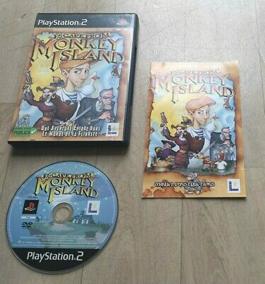 £19.68 • Buy Escape From Monkey Island - Sony Playstation 2 PS2 - Complet - PAL FRA - TBE