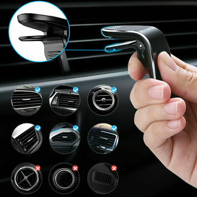 £4.25 • Buy Magnetic Mobile Phone Holder In Car Air Vent Bracket Mount For Auto Accessories