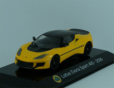$ CDN22.71 • Buy Lotus Evora Sport 410 2016 In Yellow/black - Brand New - 1:43