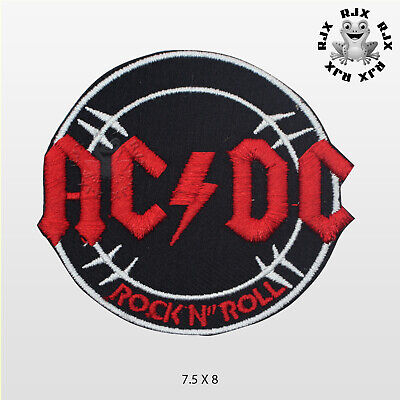 £1.89 • Buy ACDC Music Band Patch Iron On Patch Sew On Embroidered Patch