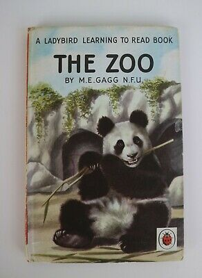 Vintage Hardback A Ladybird Book The Zoo By M.E. Gagg Series 563 1960 • 3.99£