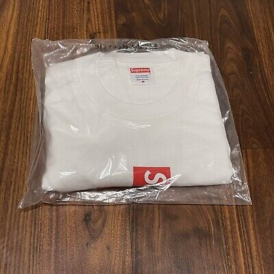 $ CDN159.47 • Buy Supreme Cross Box Logo Tee T-Shirt White FW20 Size Medium In Had Fast Shipping