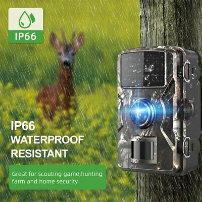 £44.15 • Buy Hunting Trail Camera 1080P Wild Animal Trap IR Night Vision Scout IP66 Outdoor