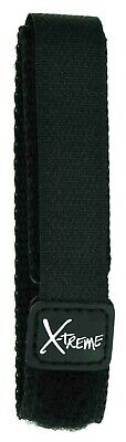 20mm Black Sports Nylon Hook & Loop One Piece Official Velcro® Watch Strap • 5.29£