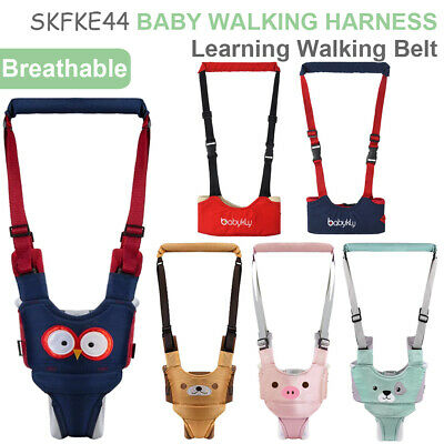 Toddler Baby Walking Assistant Learning Walk Safety Reins Harness Walker • 9.99£