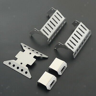 £6.45 • Buy 1/10 RC Crawler Car Chassis Axles Protective Plate Set For Axial SCX10 III