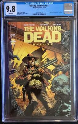 AU124.09 • Buy Image Comics The Walking Dead Deluxe #1 David Finch Cover CGC 9.8
