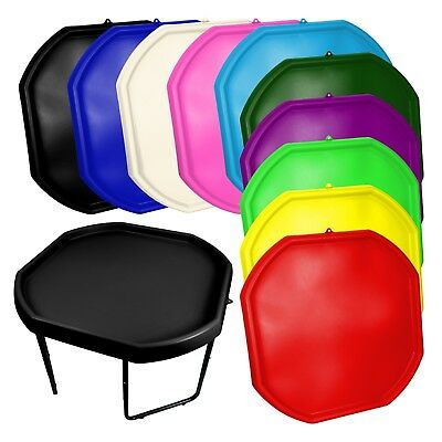 Large Plastic Children Kid Play Tuff Spot MIXING TRAY Toy Sand Pit Stand • 39.99£