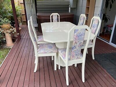 AU350 • Buy Extendable Dining Table & 6 Chairs