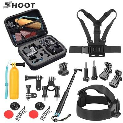 $ CDN26.64 • Buy SHOOT Action Camera Accessories Set For GoPro Hero 9 8 7 6 5 4 Session