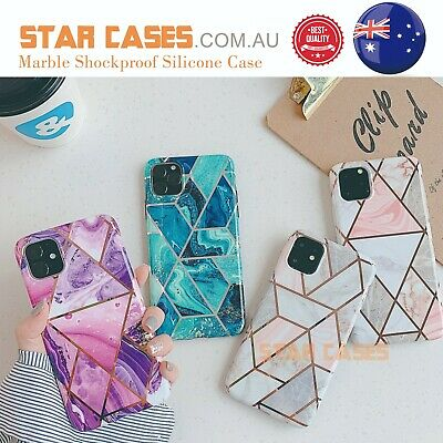 AU9.99 • Buy IPhone11 Pro Max XS XR 7/8 Plus Marble Silicone Shockproof Soft Slim Case Cover