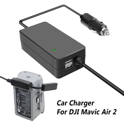 AU41.69 • Buy For DJI Mavic Air 2 Drone 3 In 1 Car Charger Battery Remote Control Charger Dock