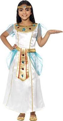 Deluxe Cleopatra Girl Costume, With Dress &  Headpiece -  (Size: La.. COST-W NEU • 13.01£