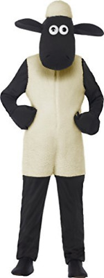 £36.55 • Buy Shaun The Sheep Kids Costume, White, With Jumpsuit & Headpiece -  ( COST-UNI NEW