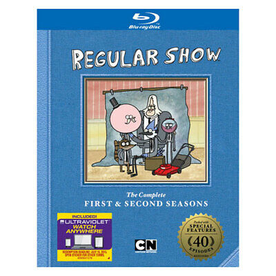 Warner Home Video Brt355320 Cartoon Network-regular Show Season 1 & 2 (blu-ra... • 23.92£