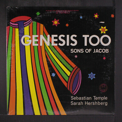 AU23.60 • Buy SEBASTIAN TEMPLE / SARAH HERSHBERG: Genesis Too - Sons Of Jacob ST. FRANCIS 12