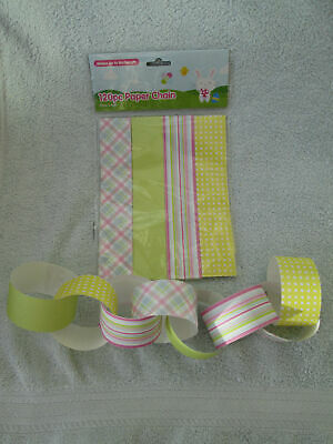Easter Bundle Paper Chain , Crackers  , Egg And Spoon Race • 10.50£