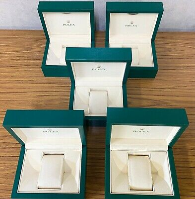 $ CDN1138.95 • Buy GENUINE ROLEX Watch Case With Outer Box Wave Small Size 5 Box Set Oyster 122201