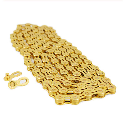 AU16.55 • Buy Rainbow MTB Bicycle Chain 8/9/10/11 Speed 116L Mountain Road Bike Hollow Chain