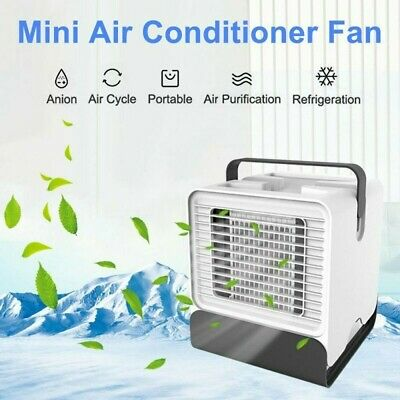 AU39.99 • Buy Portable Mini AC Air Conditioner Personal Unit Cooling Fan Humidifier Purifier