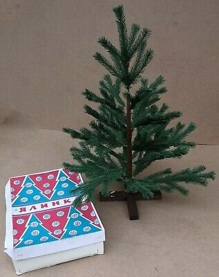 $ CDN75.76 • Buy 1988 Vintage Small Christmas Tree From The Soviet Union In Original Packaging