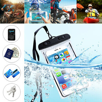 AU9.86 • Buy For IPhone Universal Fluorescent Underwater Waterproof Case Pouch Dry Bag Summer