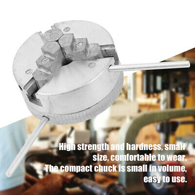 Durable For Mini Lathe Clamping Diameter 1.8-56mm Self Centering Three Jaw Chuck • 16.68£