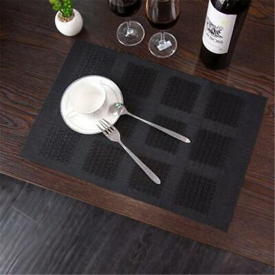 AU6 • Buy Non-Slip Heat Insulation Dining Table Place Mats Placemats Washable Pad YW
