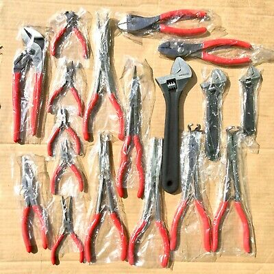 $57 • Buy Mac Tools Pliers Various Adjustable Wrench All New Free Shipping NOS