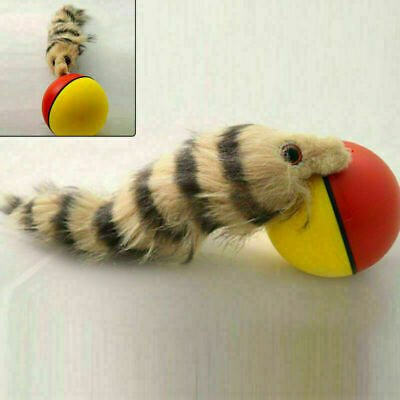 AU10.99 • Buy New Funny Activation Ball Dog Cat Weasel Jumping Moving Rolling Pet Toy AU