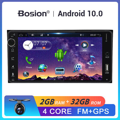 AU227.99 • Buy 2 Din Android 10.0 Head Unit For Toyota Hilux Prado Estima Car Stereo GPS AU MAP