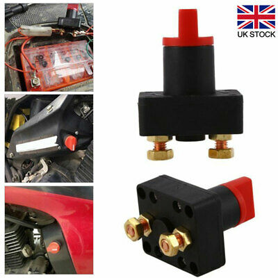 12V Universal Van Boat Battery Cut Off Isolator Switch Disconnect Terminal New • 5.96£