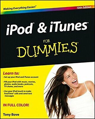 AU26.03 • Buy IPod & ITunes For Dummies By Bove, Tony 1118508645 The Cheap Fast Free Post