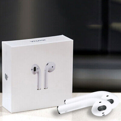 AU108.99 • Buy Apple AirPods With Wireless Charging Case 2nd Generation With Charging Cable