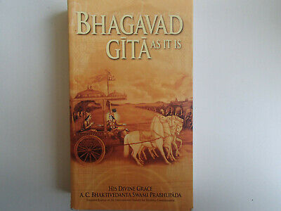 AU13 • Buy Bhagavad-Gita: As It Is By A.C. Bhaktivedanta Swami Prabhupada Paperback NEW AUS