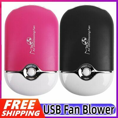 AU17.89 • Buy USB Mini Personal Portable Handheld Cooling Fan Electric Air Conditioning Blower