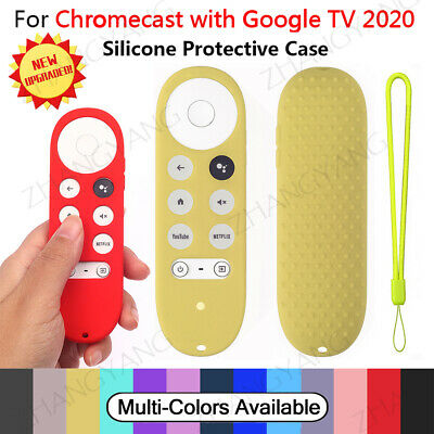 AU13.59 • Buy For Chromecast With Google TV Voice Remote Anti-Lost Silicone Case AU Stock Hot