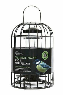 Tom Chambers Squirrel Proof Caged Bird Seed Feeder • 19.99£