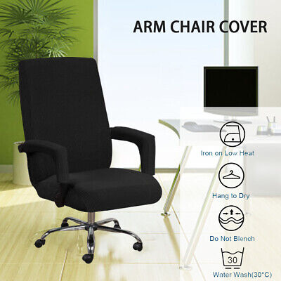 AU25.58 • Buy Stretch Swivel Computer Office Chair Cover Slipcovers Desk Seat Cover Protector